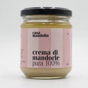 Crema di mandore pura al 100%
