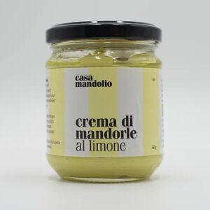 Crema di mandorle e  limone