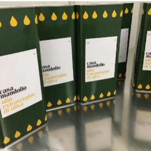 Olio extravergine di oliva biologico siciliano
