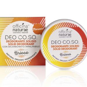 """Deodorante solido """"brioso"""" Officina Naturae"""