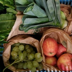 cassetta  mista grande verdura e frutta biologica El Tamiso